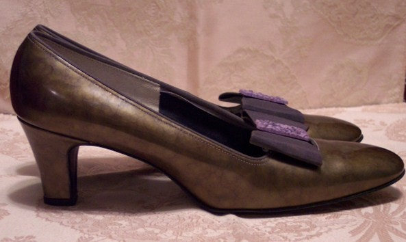 Sh116 Red Cross Shoes green patent leather (6)