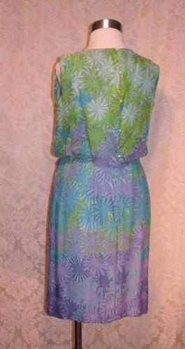 Philippe Tournaye Rembrandt vintage silk dress (6)