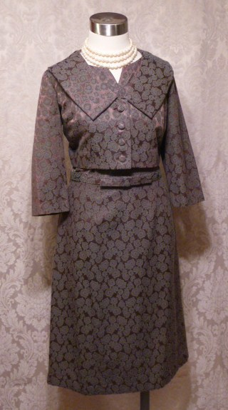 Cohen Bros. Style vintage 1960s 2 piece dress suit bolero jacket (5)