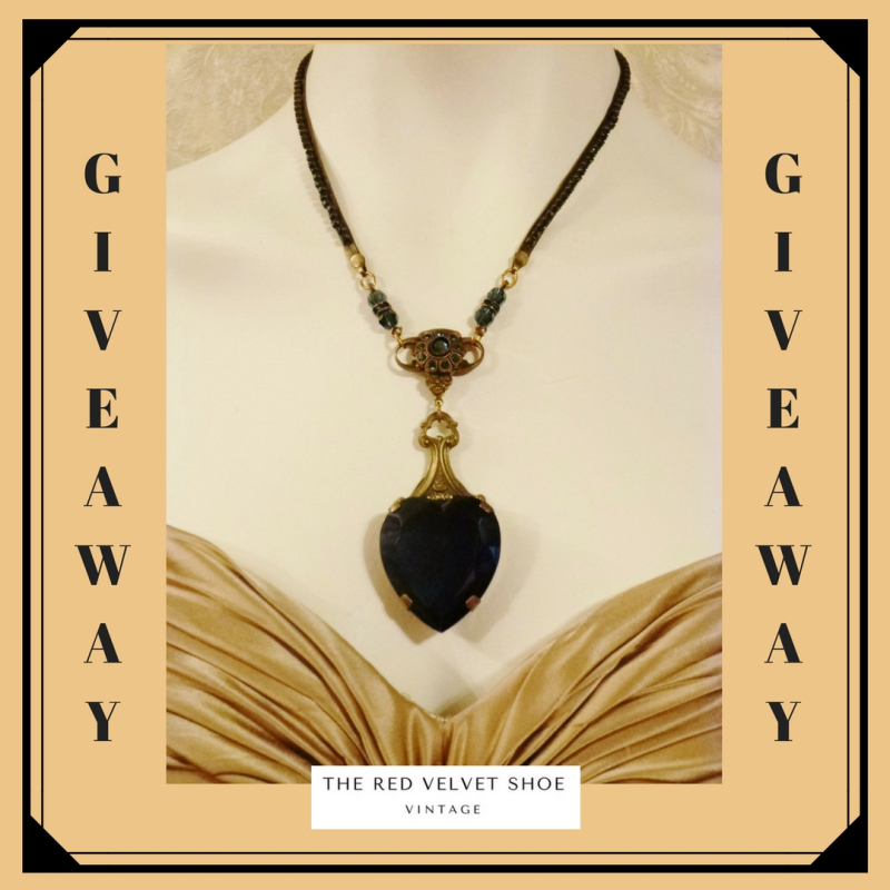 1 Giveaway BB Sapphire Necklace