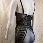 L'AGENT BY AGENT PROVOCATEUR Esma stretch lace chemise slip (5)