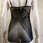 L'AGENT BY AGENT PROVOCATEUR Esma stretch lace chemise slip (4)