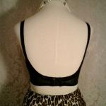 1950s Warner's Body Do Black Lace Bullet Bra  (4)