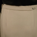 Vintage 1980s Carolyne Roehm ivory white crepe wool pencil skirt. (6)