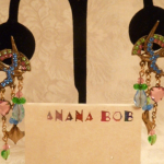 Vintage Banana Bob Birds in Flight chandelier earrings  (6)
