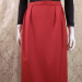 1980s vintage Christian Dior red skirt suit pockets (2)