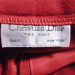 1980s vintage Christian Dior red skirt suit pockets (7)